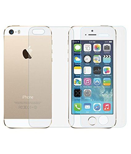 Apple Iphone 5s Tempered Glass Screen Protector Scratch Guard