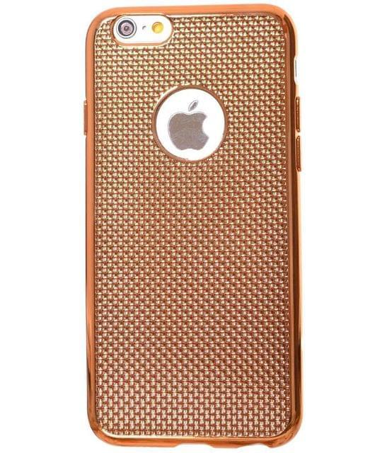Iphone 6 & 6s Metallic  cover back case -Light Golden