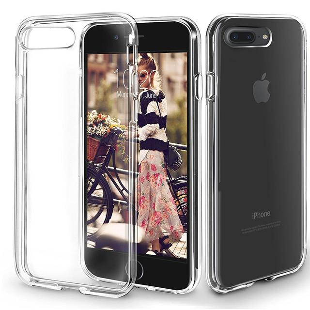 Apple iPhone 7 - Protective Flexible Silicon Gel Phone Case in 100% TRANSPARENT