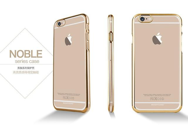 Apple iPhone 5s/SE/5 Meephoneg Noble Series Back Cover-Gold