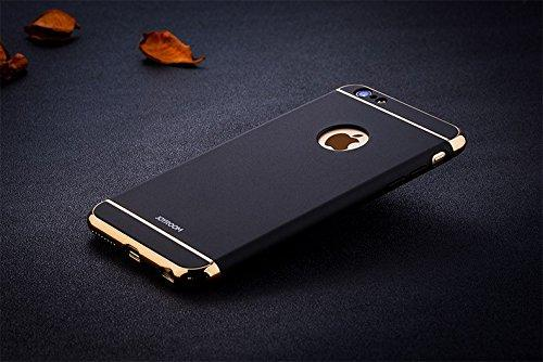 Joyroom Apple iPhone 6/6S Ling Series Official Electroplated Case Limited Edition Back Cover-Black