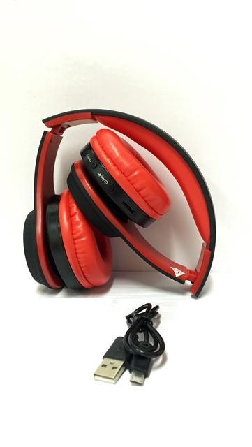 Bluetooth Wireless Headphone-Red