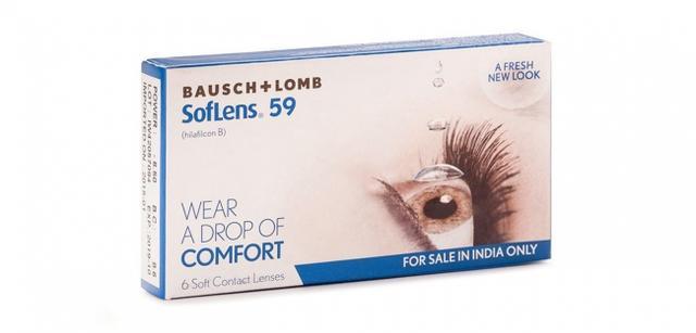 BAUSCH & LOMB - SOFLENS 59 (6 LENSES/BOX)