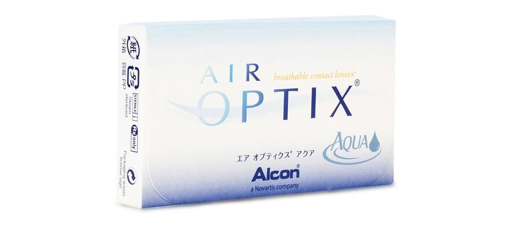 ALCON Air Optix Aqua (6 lenses/box) Ciba Vision