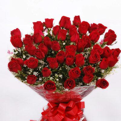 Bunch of 50 roses