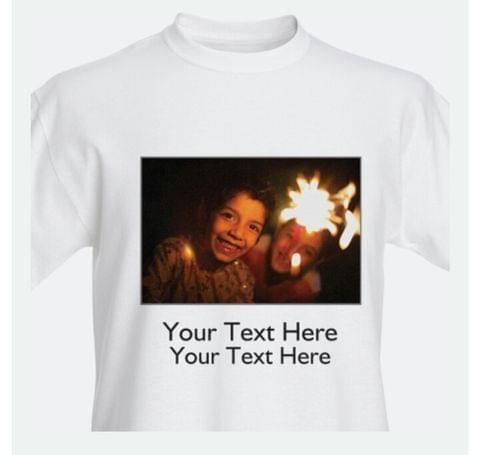 100 Pcs Premium  Personalized T-shirt