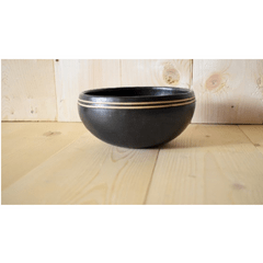 Large Bowl with Cane Ring