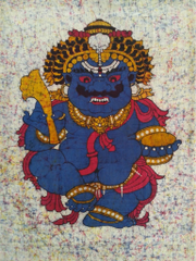Baatik Painting - Mahakaal
