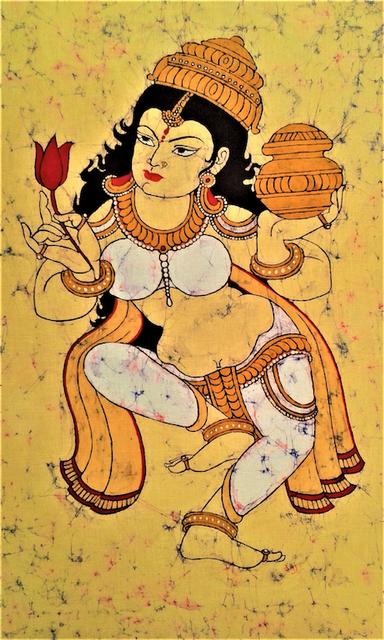 Baatik Painting - Ganga