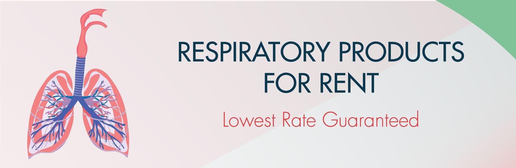 Medical Respiratory Equipment on Rent