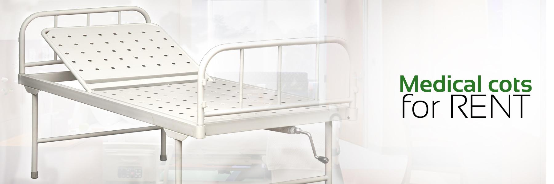 Medical Cots & Hospital Beds on Rent