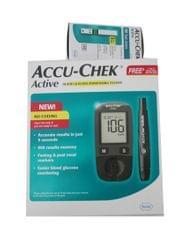 Accu Chek Glucometer Kit with Free 10 Strips