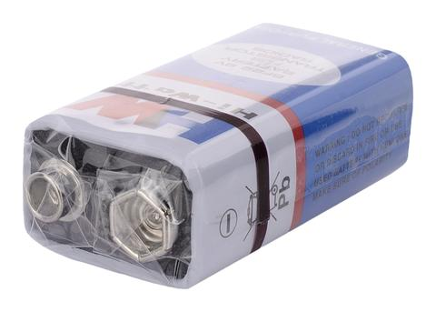 Battery - 9V, Non-Rechargeable - Set of two