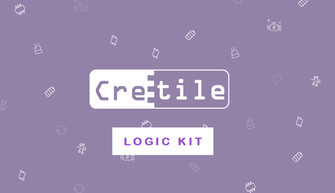 Logic Kit - 27 Cretile including 1 Programmable Cretile, 10 Accessories