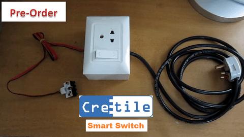 Cretile Smart Switch - Control Appliances