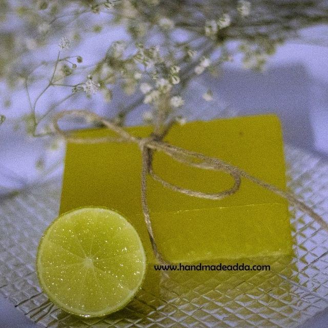 Refreshing Lemon Soap