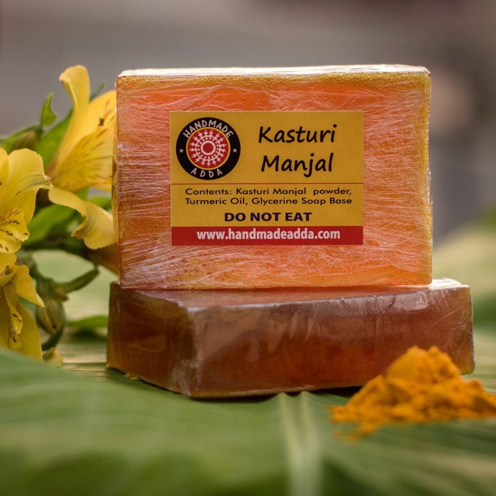 Kasturi Manjal Soap