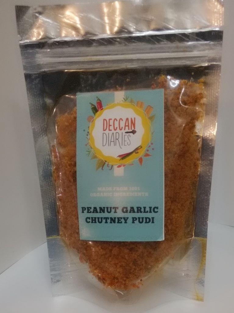 Peanut Garlic Chutney Pudi Organic