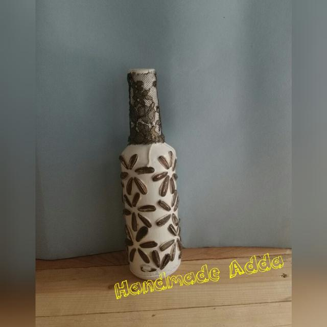 Recycled designer bottles