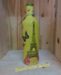 Recycled designer bottle