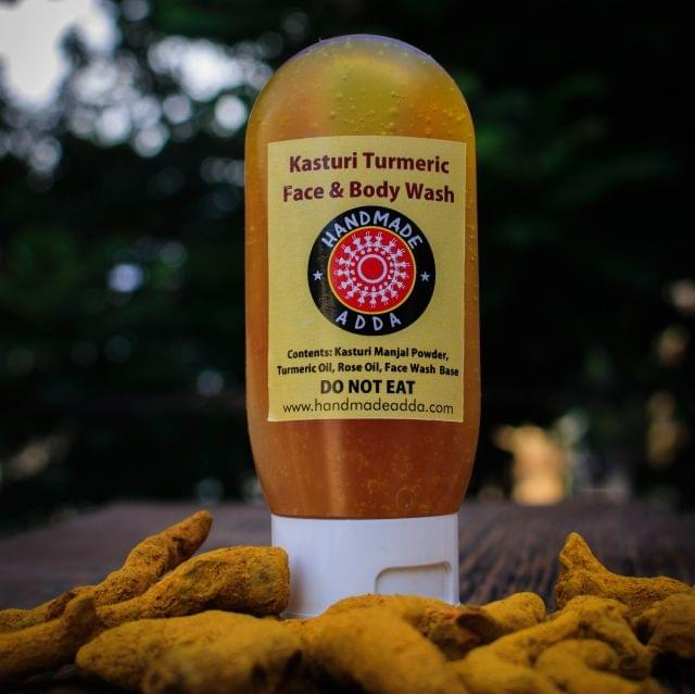 Kasturi Turmeric Face & Body Wash