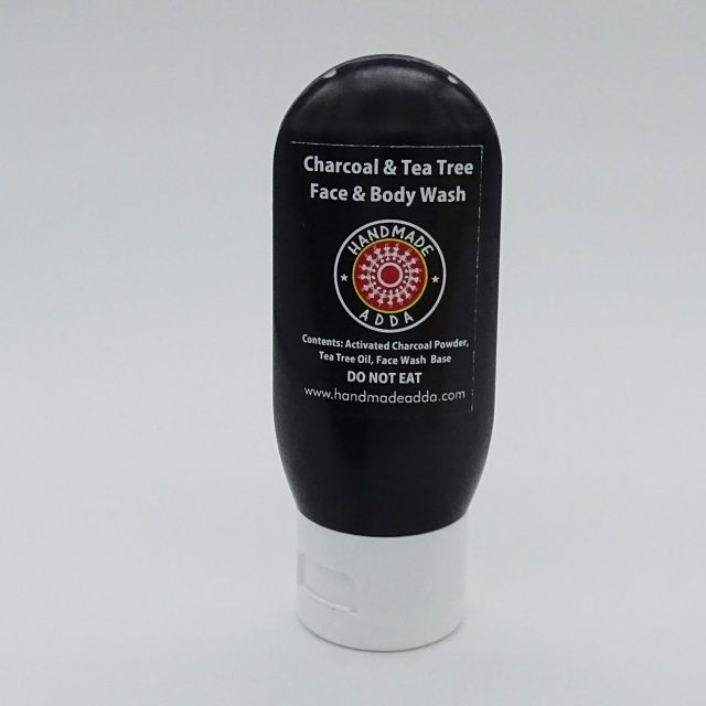 Charcoal and Teatree Face Wash