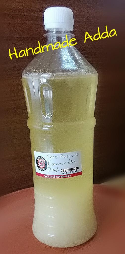 Coconut Oil Cold Pressed 1 ltr