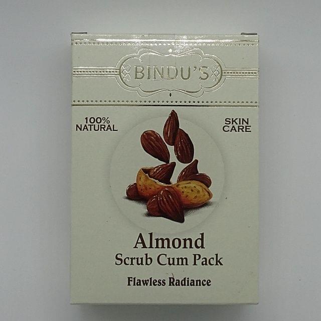 Bindu Almond Scrub Cum Pack