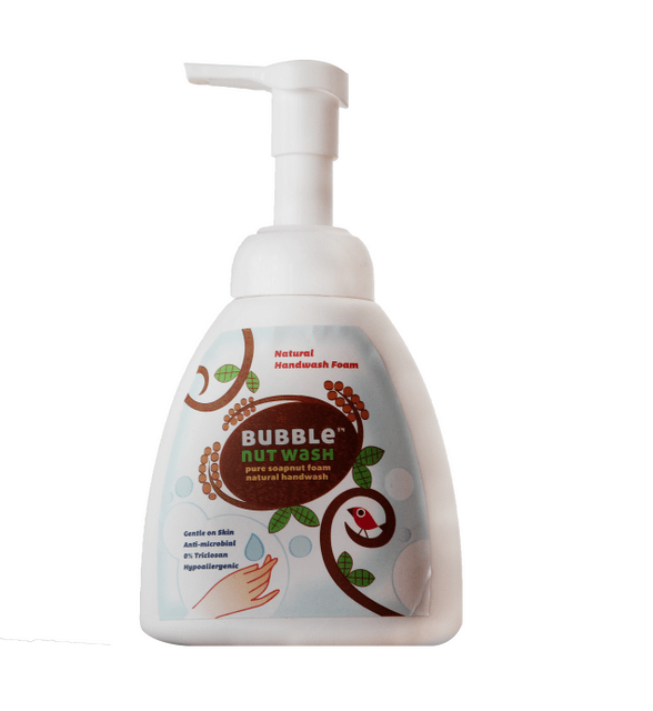 BUBBLENUT WASH – NATURAL HANDWASH FOAM 300ml