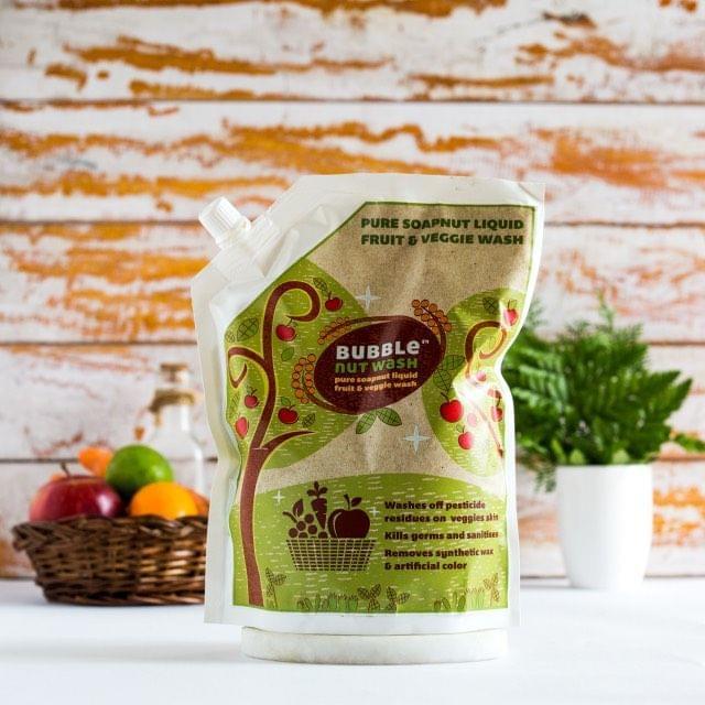 BUBBLENUT WASH – NATURAL FRUIT & VEGGIE WASH 750ml