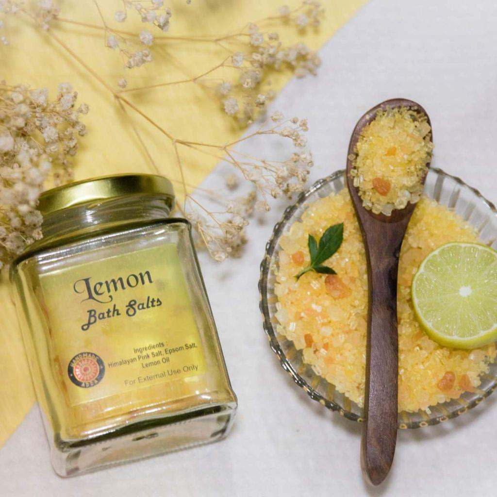 Lemon Bath Salt 200gms