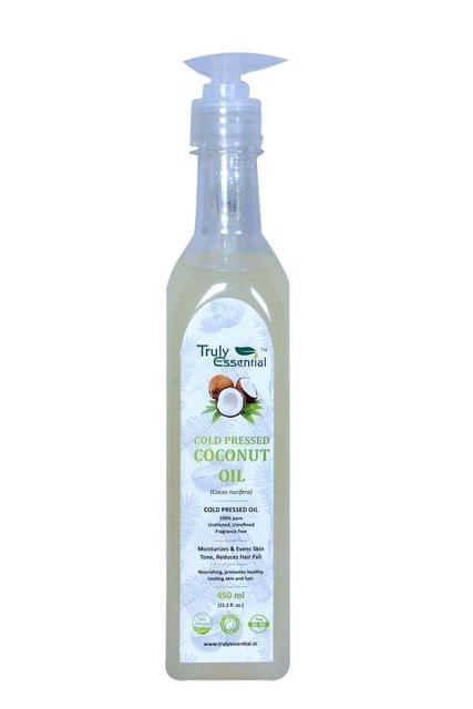 Coconut Oil (450ml) Cold Pressed