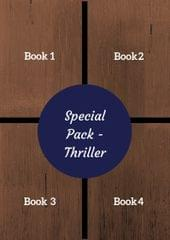Special Pack of 4 Books - Thriller