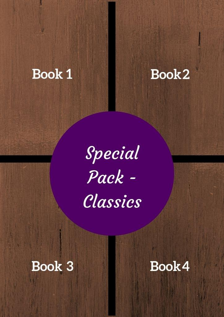 Special Pack of 4 Books - Classics