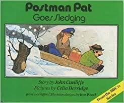 Postman Pat Goes Sledging