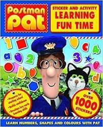 Postman Pat - Sticker and Activity