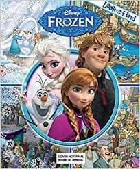 Frozen - Look and Find