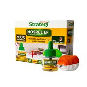 Mosrelief Herbal Mosquito Vaporizer with Machine