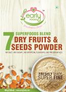 Dry Fruit & Seeds Powder for Kids - Blend of 7 Indian Super Foods - 100 gms
