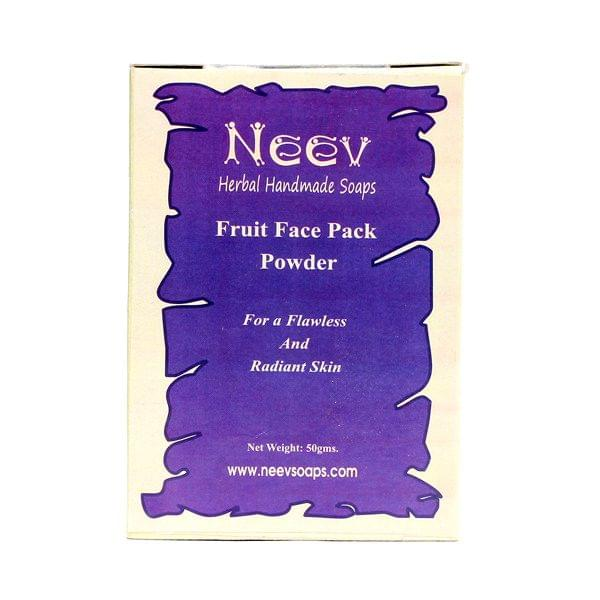 Fruit Face Pack Powder for Flawless and Radiant Skin 50 gms