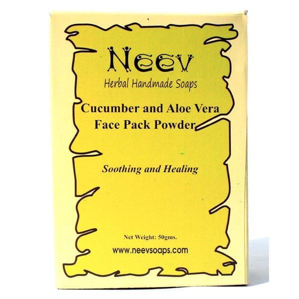 Cucumber and Aloe Vera Face Pack Powder 50 gms