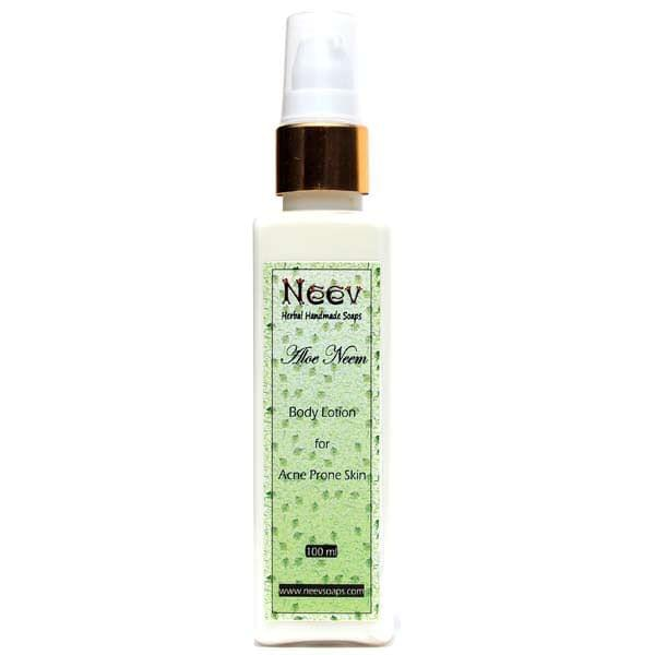 Aloe Neem Lotion for Acne Prone Skin 100 ml