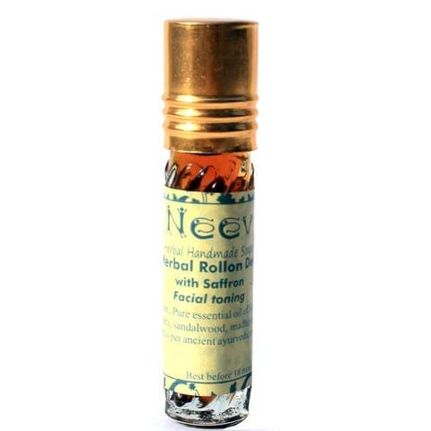 Herbal Facial toning Rollon Deo with Saffron 5 ml