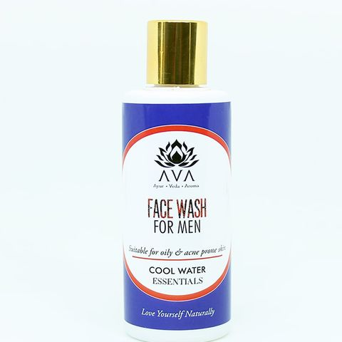 Cool Water Mens Face Wash with 9 Herbs 125 ml