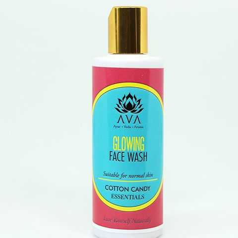 Cotton Candy Glowing Face Wash Gel for All, including Teenagers 125 ml
