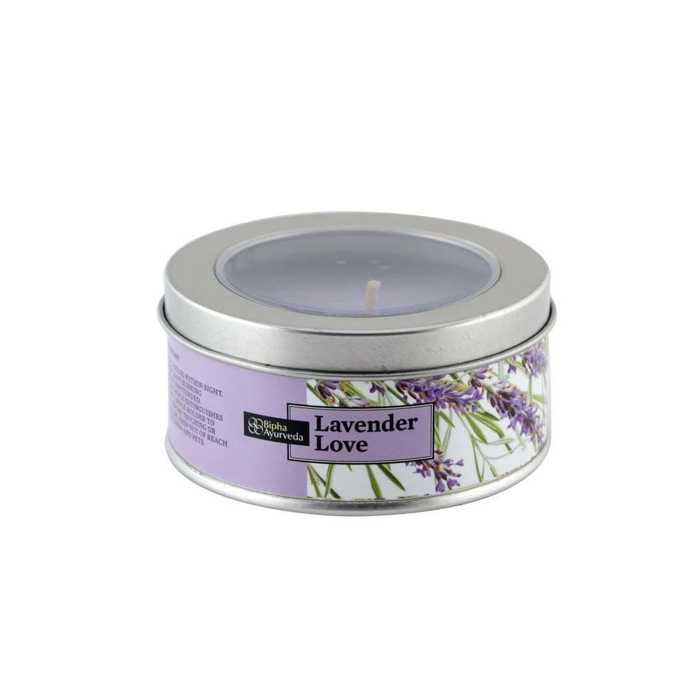 Lavender Love Tin Candles