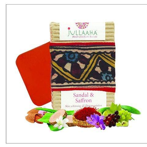 Sandal & Saffron Soap - 100 gms