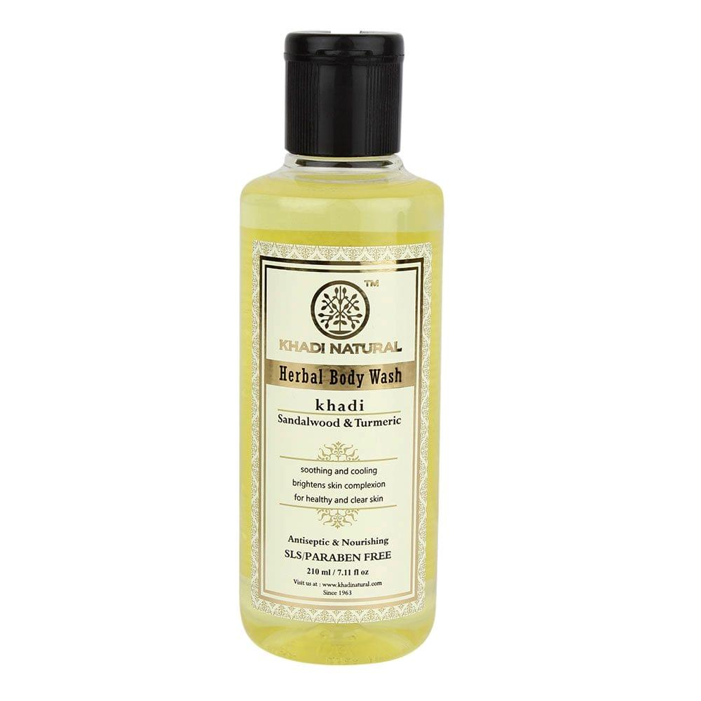 Sandal Turmeric Body Wash  - 210 ml