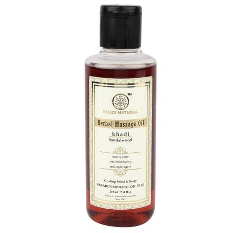 Sandalwood Massage Oil - 210 ml