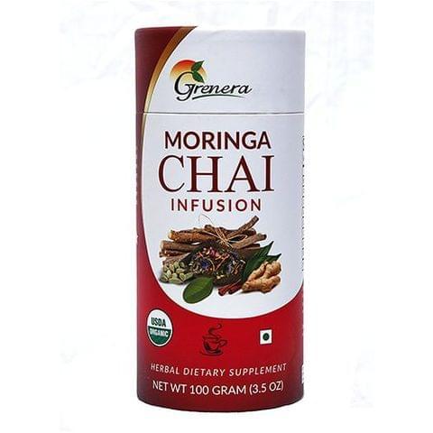Organic Moringa Chai Tea - 100 gms